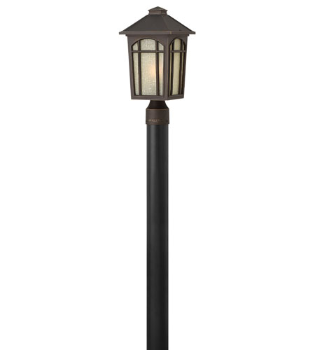 Hinkley Lighting Cedar Hill 1 Light Energy Star Post Lantern (Post Sold Separately) in Oil Rubbed Bronze 1981OZ-ES photo