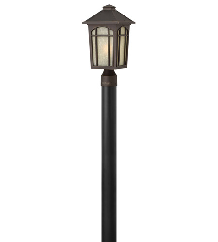 Hinkley Lighting Cedar Hill 1 Light LED Post Lantern (Post Sold Separately) in Oil Rubbed Bronze 1981OZ-LED