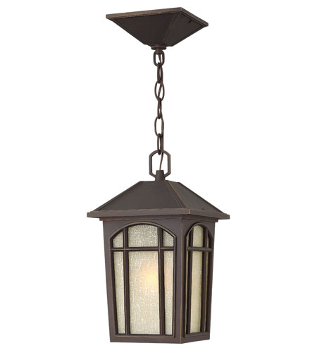 Hinkley Lighting Cedar Hill 1 Light Energy Star Outdoor Hanging Lantern in Oil Rubbed Bronze 1982OZ-ES