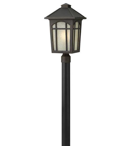 Hinkley Lighting Cedar Hill 1 Light LED Post Lantern (Post Sold Separately) in Oil Rubbed Bronze 1989OZ-LED