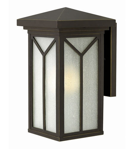 Hinkley 1990OZ-GU24 Drake 1 Light 14 inch Oil Rubbed Bronze Outdoor Wall in GU24 photo