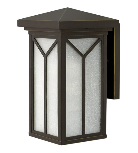 Hinkley Lighting Drake 1 Light Outdoor Wall in Oil Rubbed Bronze 1990OZ