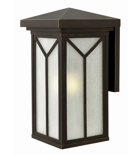 Hinkley Lighting Drake 1 Light Outdoor Wall in Oil Rubbed Bronze 1995OZ-GU24 photo