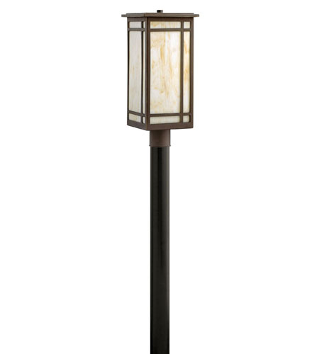 Hinkley Lighting Parkside 1 Light Post Lantern (Post Sold Separately) in Oil Rubbed Bronze 2001OZ