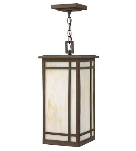 Hinkley Lighting Parkside 1 Light Outdoor Hanging Lantern in Oil Rubbed Bronze 2002OZ photo