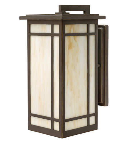 Hinkley Lighting Parkside 1 Light Outdoor Wall Lantern in Oil Rubbed Bronze 2004OZ