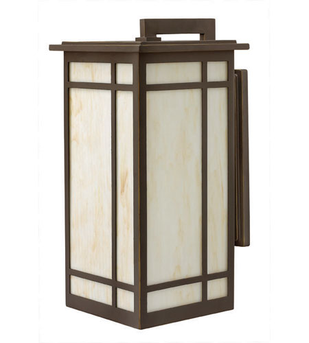 Hinkley Lighting Parkside 1 Light Outdoor Wall Lantern in Oil Rubbed Bronze 2005OZ-ES photo