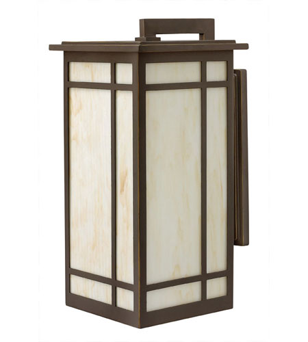 Hinkley Lighting Parkside 1 Light Outdoor Wall Lantern in Oil Rubbed Bronze 2005OZ photo