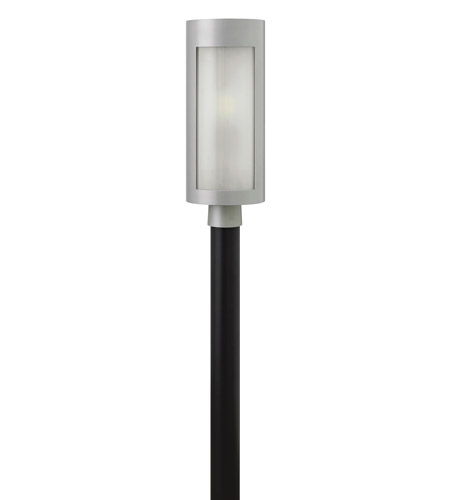 Hinkley Lighting Solara 1 Light GU24 CFL Outdoor Wall in Titanium 2021TT-GU24