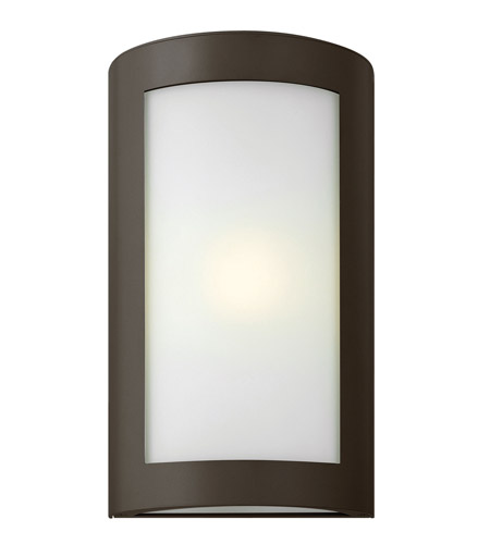 Hinkley Lighting Solara 1 Light GU24 CFL Outdoor Wall in Bronze 2024BZ-GU24 photo