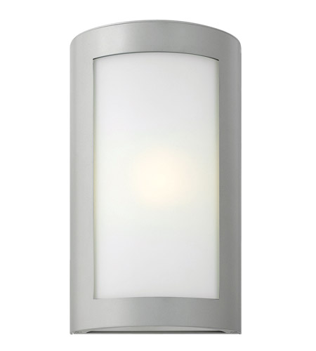 Hinkley Lighting Solara 1 Light GU24 CFL Outdoor Wall in Titanium 2024TT-GU24