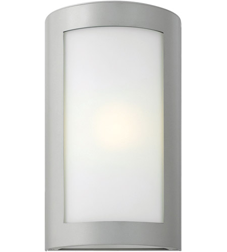Hinkley Lighting Solara 1 Light Outdoor Wall Lantern in Titanium 2024TT
