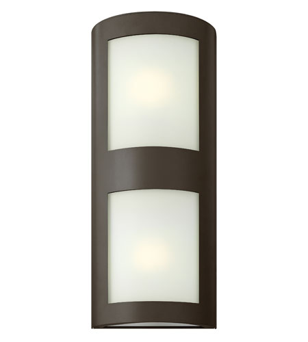 Hinkley Lighting Solara 1 Light Outdoor Wall Lantern in Bronze 2025BZ-ES