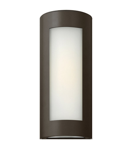 Hinkley Lighting Solara 1 Light GU24 CFL Outdoor Wall in Bronze 2026BZ-GU24