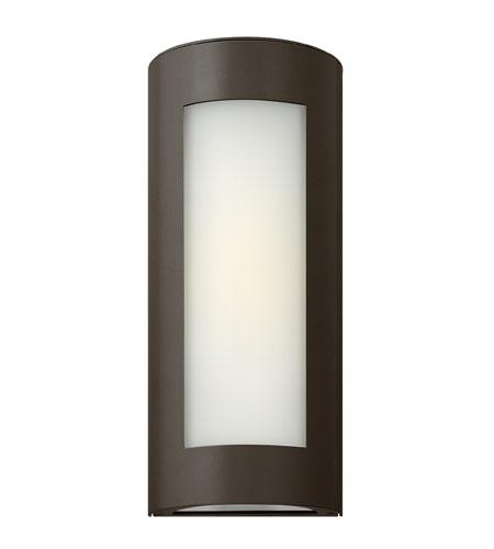 Hinkley Lighting Solara 1 Light Outdoor Wall Lantern in Bronze 2027BZ