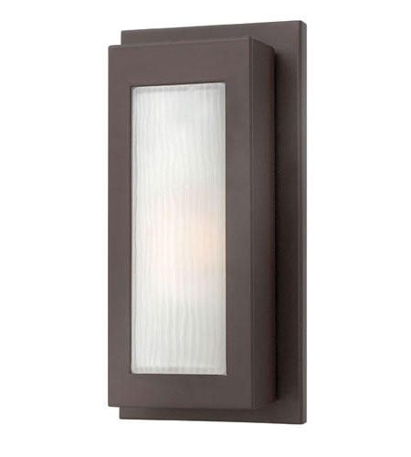 Hinkley Lighting Titan 1 Light Outdoor Wall Lantern in Buckeye Bronze 2050KZ-ES