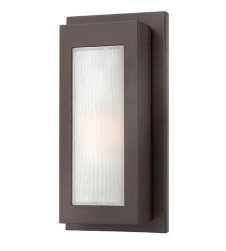 Hinkley Lighting Titan 1 Light Outdoor Wall Lantern in Buckeye Bronze 2050KZ-ES