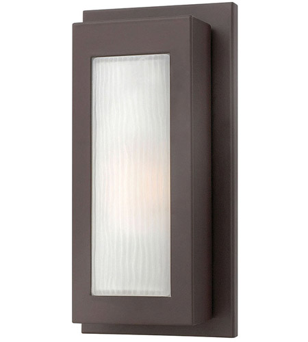 Hinkley 2050KZ Titan 1 Light 14 inch Buckeye Bronze Outdoor Wall Lantern in Incandescent photo
