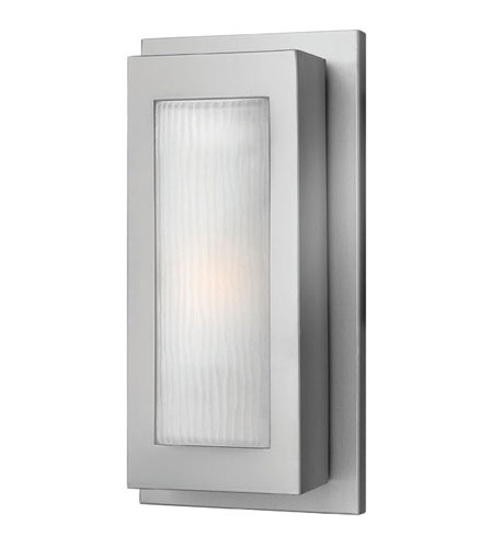 Hinkley Lighting Titan 1 Light Outdoor Wall Lantern in Titanium 2050TT-ES