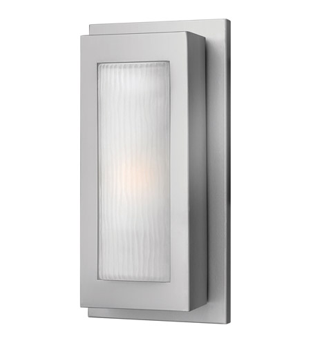 Hinkley Lighting Titan 1 Light GU24 CFL Outdoor Wall in Titanium 2050TT-GU24