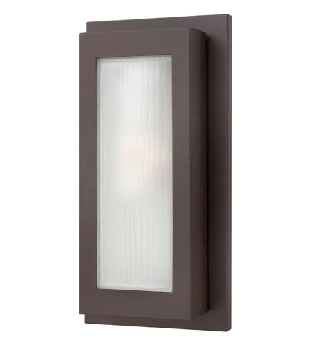 Hinkley Lighting Titan 1 Light Outdoor Wall Lantern in Buckeye Bronze 2054KZ-ES