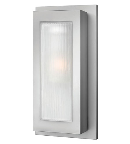 Hinkley Lighting Titan 1 Light Outdoor Wall Lantern in Titanium 2054TT-ES