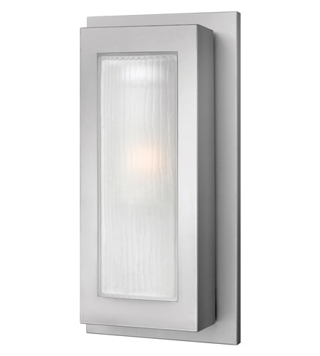 Hinkley Lighting Titan 1 Light GU24 CFL Outdoor Wall in Titanium 2054TT-GU24