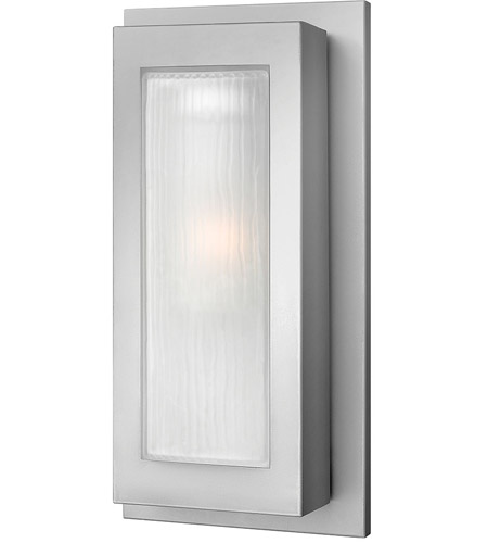 Hinkley Lighting Titan 1 Light Outdoor Wall Lantern in Titanium 2054TT photo
