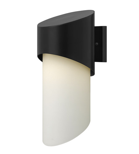 Hinkley 2064SK Solo 1 Light 17 inch Satin Black Outdoor Wall photo