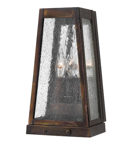 Hinkley Lighting Valley Forge 2 Light Outdoor Wall in Sienna 2070SN photo