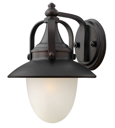 Hinkley Lighting Pembrook 1 Light Outdoor Wall Lantern in Spanish Bronze 2080SB-ES