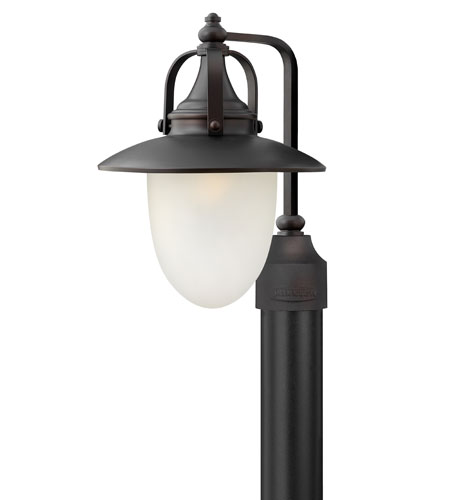 Hinkley Lighting Pembrook 1 Light Post Lantern (Post Sold Separately) in Spanish Bronze 2081SB-ES
