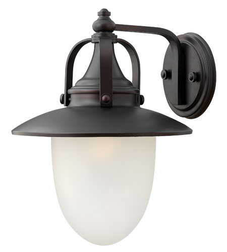 Hinkley Lighting Pembrook 1 Light Outdoor Wall Lantern in Spanish Bronze 2084SB-ES