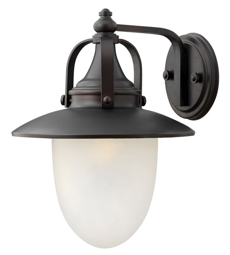 Hinkley Lighting Pembrook 1 Light Outdoor Wall Lantern in Spanish Bronze 2084SB-LED photo