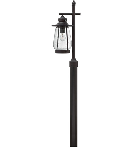 Hinkley 2091SB Calistoga 1 Light 26 inch Spanish Bronze Post Lantern in Incandescent, Post Sold Separately photo