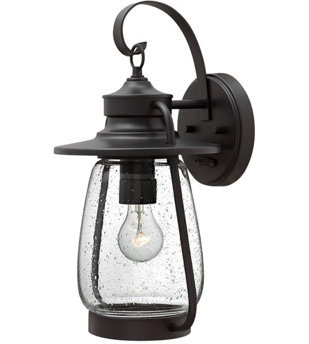 Hinkley 2094SB Calistoga 1 Light 18 inch Spanish Bronze Outdoor Wall Mount in Incandescent photo