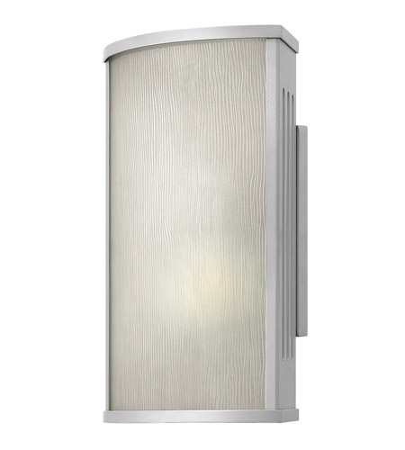 Hinkley Lighting District 1 Light GU24 CFL Outdoor Wall in Titanium 2110TT-GU24