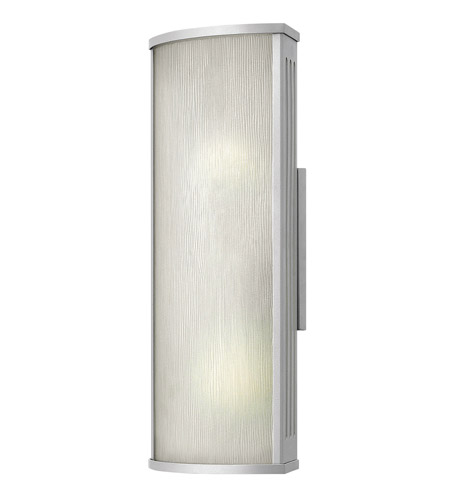 Hinkley Lighting District 1 Light GU24 CFL Outdoor Wall in Titanium 2114TT-GU24