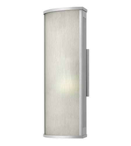 Hinkley Lighting District 1 Light Outdoor Wall in Titanium 2114TT