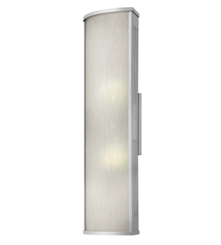 Hinkley Lighting District 1 Light GU24 CFL Outdoor Wall in Titanium 2115TT-GU24