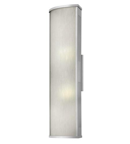 Hinkley Lighting District 1 Light GU24 CFL Outdoor Wall in Titanium 2115TT-GU24