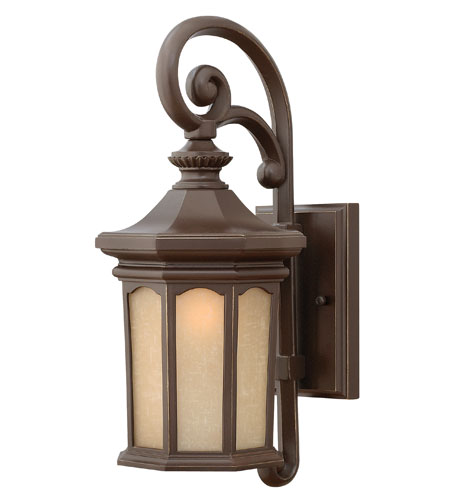 Hinkley Lighting Rowe Park 1 Light Outdoor Wall Lantern in Oil Rubbed Bronze 2130OZ