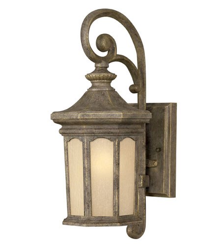 Hinkley Lighting Rowe Park 1 Light Outdoor Wall Lantern in Pearl Bronze 2130PZ