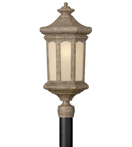 Hinkley Lighting Rowe Park 1 Light Post Lantern (Post Sold Separately) in Pearl Bronze 2131PZ-ES photo