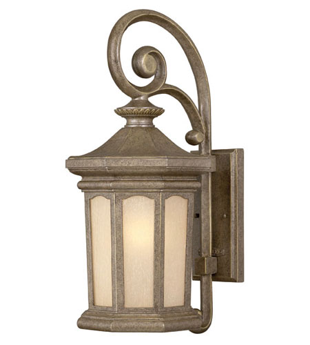 Hinkley Lighting Rowe Park 1 Light Outdoor Wall Lantern in Pearl Bronze 2134PZ-DS photo