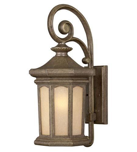 Hinkley Lighting Rowe Park 1 Light Outdoor Wall Lantern in Pearl Bronze 2134PZ-LED