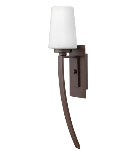 Hinkley Lighting Ellis 1 Light Outdoor Wall Lantern in Buckeye Bronze 2144KZ-ES