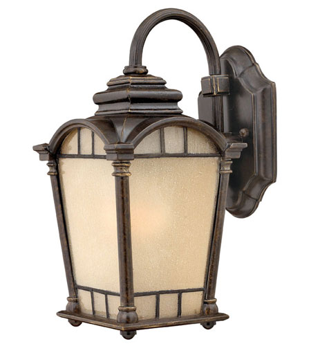Hinkley Lighting Wellington 1 Light Outdoor Wall Lantern in Regency Bronze 2160RB-ESDS photo