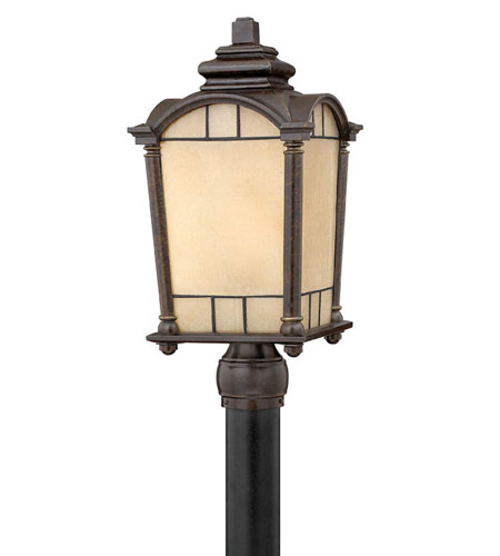 Hinkley Lighting Wellington 1 Light Post Lantern (Post Sold Separately) in Regency Bronze 2161RB-ES