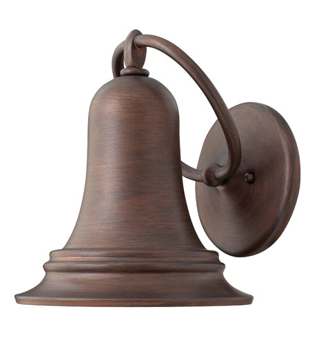 Hinkley Lighting Liberty 1 Light Outdoor Wall Lantern in Victorian Bronze 2174VZ photo